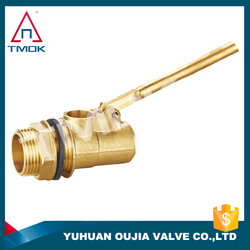 male thread plastic 2 inch small water tank water level male NPT thread 1 1/2 ' stock tank float valve for oujia valve