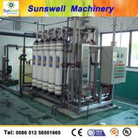 RO-8000L RO,UF,EDI, Water purification plant for food /pharmaceutical/electron