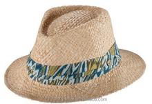 Natural Straw Mens Madagascar Raffia Hats
