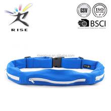 flip belt waist belt bag waist pack with reflective strap