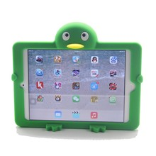 2015 summer new penguin silicone case for ipad mini