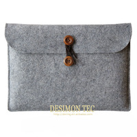 high quality universal envelope felt tablet case for xiaomi mipad