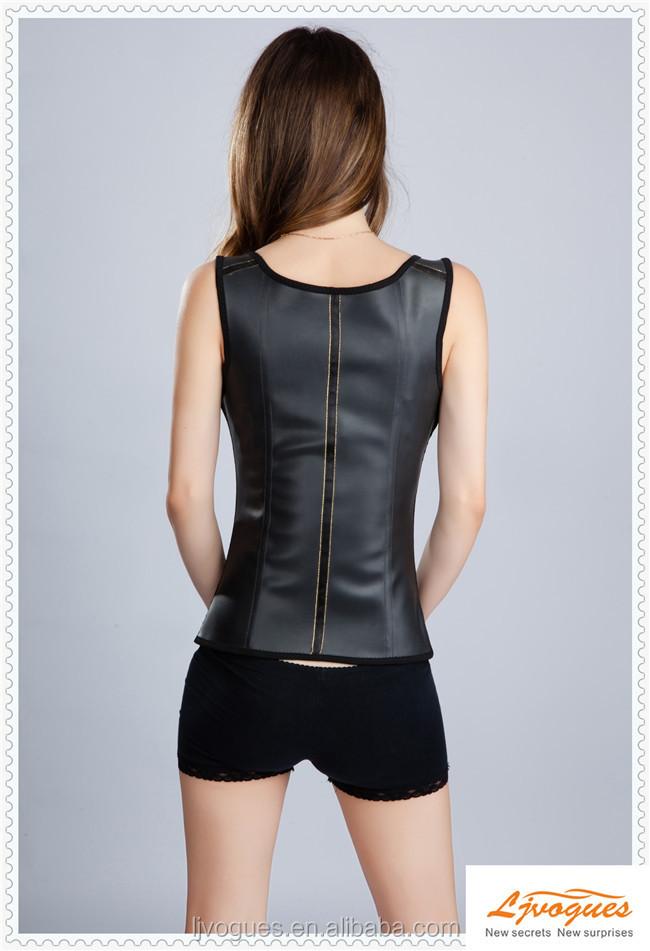 미국 검은 색 허리 트레이너, 누드, 작은- 대형, 라텍스, 훅& 눈 ...