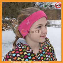 direct manufacture wholesale custom logo kids cheap promotional embroidery cotton basketball wristband with sweat headband
