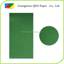 high quality color acceptable special glitter paper cards