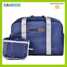 China expandable weekend duffle bag, Large capacity foldable travel bag