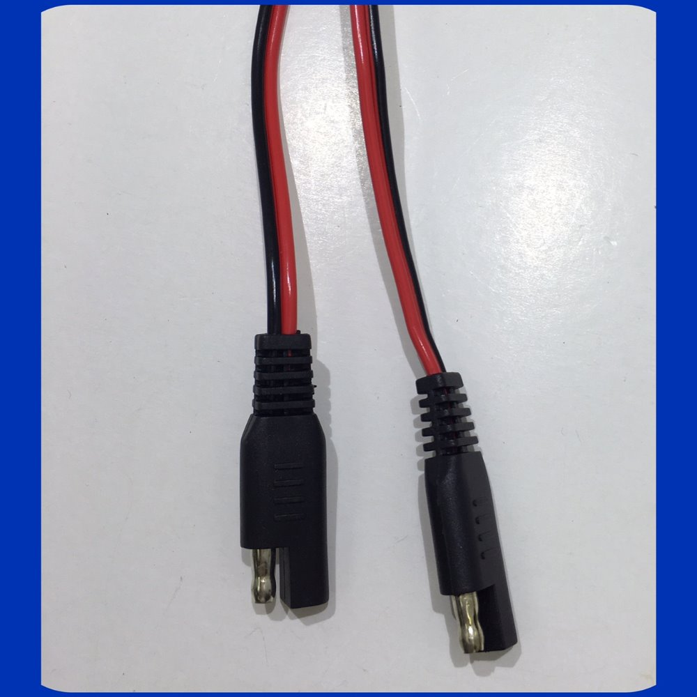 Red and black Crimp and Molding Wire Harness