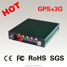 4CH SD Card Mobile DVR With GPS 3G Function