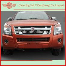 Double Cabin diesel engine rear wheel drive LHD pickup on sale