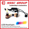 H4 6000K 2400LM high beam low beam professional car led headlight 24W