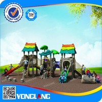 Exciting kids entertainment play system playground equipment