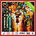 2014 la venta caliente pintura en tela sobre lienzo