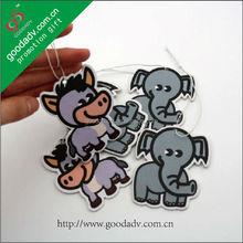 china suppier cute cartoon hanging paper air freshener car air refresher