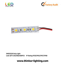 60 high brightness SMD LED nonwaterproof 3528 led strip and economical