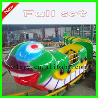 2015 China kiddie rides backyard mini cheap roller coaster for sale