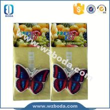 Brand new butterfly hanging paper car fragrance