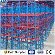 Heavy Duty Metal Pallet Storage Drive In Rack for long objects from Nanjing Victory