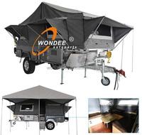 China Supplier Hard Floor Camper Trailer Tent