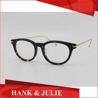 Wholesale Men Glasses Frame 702 Acetate mix Titanium Frame Glasses Frame
