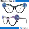 HS1507006 The frame with two large fake diamonds connecting eleven buttons vogue party glasses