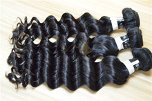Top quality wholesale 100 percent pure indian hair best type human hair extensions