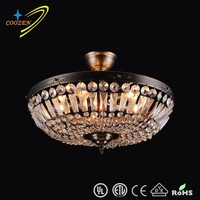 hot sales modern Crystal chandelier Light Lamp Luxury crystal ceiling decoration light GZ10005-5P