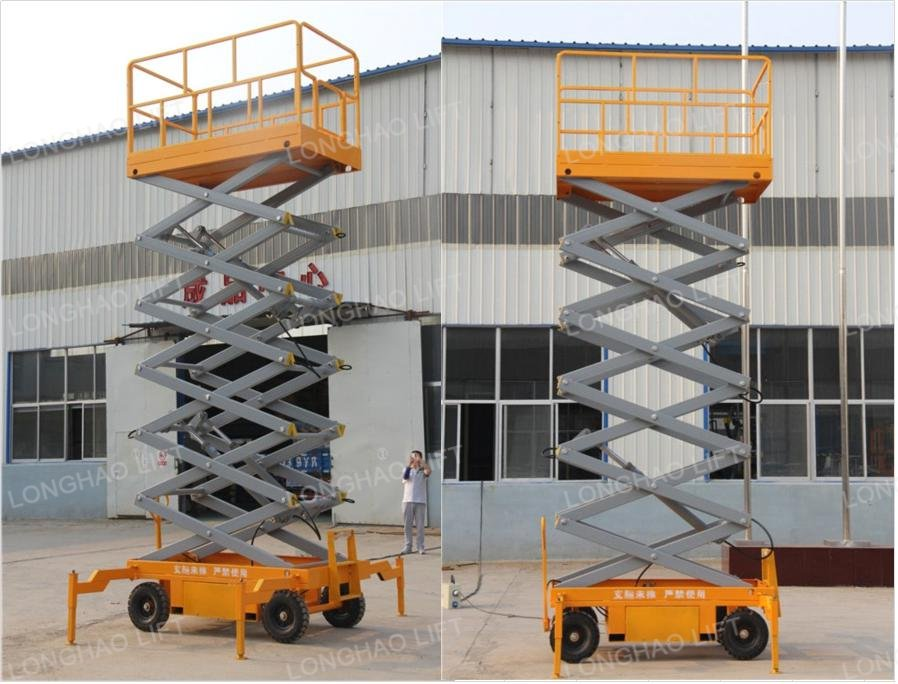 Mobile Hydraulic Lifts : Mobile hydraulic scissor lift table buy