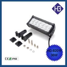 6.5 inch 36W led strip lights work light off-road car dome light led spotlights modified front bumper