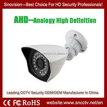 2014 New Technology AHD 720P 1.0MP HD Analogy CCTV Camera Systems