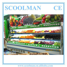 Supermarket Fruit and Vegetables Display Case