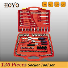 tire tool kit 120PCS Socket Set CR-V Socket Set