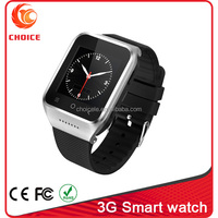 wrist watch tv mobile phone with wifi and single sim card factory