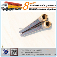 used concrete pump rubber hose with assured quality