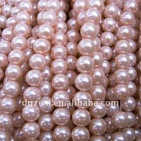 High quality pink pearl jewelry bead