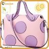 2015 new product women bag ladies handbag made in china bag with dot