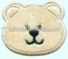 3D embroidery patch Accessories 100% polyester fabric