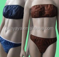 2015 Hot Sales Disposable PP Nonwoven Bra/Bust Bra Manufacturing Companie