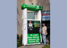 11 foot tall Gas Pump/inflatable replica