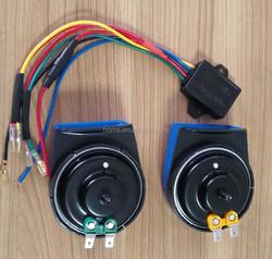 disc horn original dongfeng truck parts 153 disc horn dl50g electric car horn disc horn for chery cars