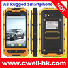 High Quality ALPS A8 IP67 Quad Core Android 4.2 3G 2 Sim 512MB+4G Wifi Rugged Shockproof 5MP+0.3MP Rugged Dual SIM Mobile Phone