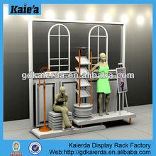Pantalla de la ventana/tienda de visualización de la ventana/ropa de pantalla de la ventana