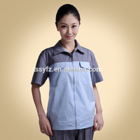 High quality work clothes with zipper