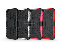 Combo phone accessory for iPhone 5 TPU+PC Super case with stand