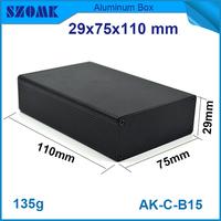 29*75*110mm hot selling diy widly used normal stype abrasive blasting die casting aluminum profile box case