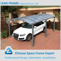 Large Size Metal Roof Steel Structure Awning For Cars