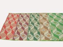 1.5*1.3m folding camping mat foldable picnic mat straw mat