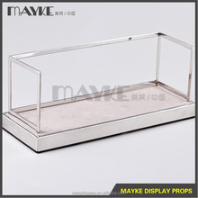 Newly design steel Wallet purse pouch bag handbag display stand,wallet and handbag Display stand, bag display stand