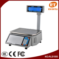 30kg Electronic Fruit Vegetable Weighing Scale for Supermarket RLS1000