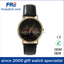 2015 fashion leather hand watch for lady new design leather watch women