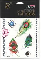 2015 Newest Product Custome Glow Tattoo Design , Body Tattoo Sticker